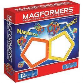 MAGFORMERS Магнитный конструктор, 12 деталей, MAGFORMERS