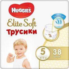 HUGGIES Трусики-подгузники Huggies Elite Soft XL (5), 12-17 кг., 38 шт.