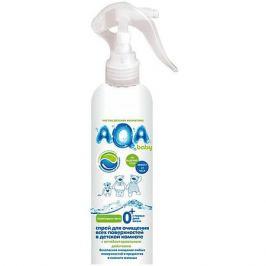 AQA baby Антибактериальный спрей AQA baby для очищения поверхностей в детской комнате, 300 мл