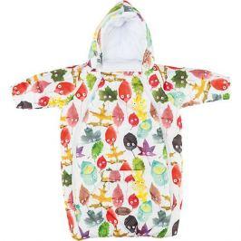 Mammie Конверт для новорожденного с рукавами , цвет листики