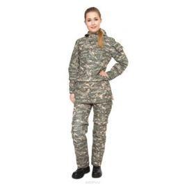Костюм противоэнцефалитный женский Биостоп, цвет: зеленый камуфляж. 02/2/01. Размер XL-170/176 (54/56-170/176)
