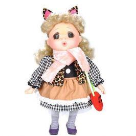 Lotus Onda Кукла Lotus Mademoiselle GeGe в коричневом платье, 38 см