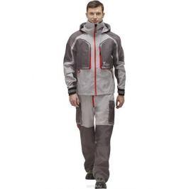 Куртка рыболовная мужская FisherMan Nova Tour Риф Prime, цвет: серый, красный. 95938-55. Размер XS (46)