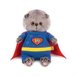 Budi Basa Мягкая игрушка Budi Basa Кот Басик Baby в костюме супермена, 20см