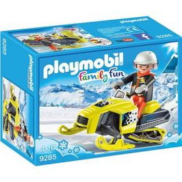 PLAYMOBIL® Конструктор Playmobil Сноумобиль, 5 деталей