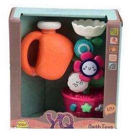 Junfa Toys Игрушка для ванны Junfa Toys Мельница, розовая