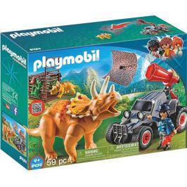 PLAYMOBIL® Конструктор Playmobil Вражеский квадроцикл с трицератопсом, 7 деталей