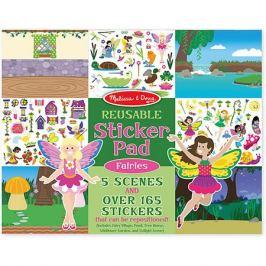 Melissa & Doug Книжка с многоразовыми наклейками