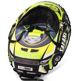 Small Rider Надувные санки-тюбинг с сиденьем и ремнями Snow Cars 3 Сафари цвет зеленый