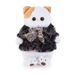Budi Basa Мягкая игрушка Budi Basa Кошечка Ли-Ли в шубке с бантиком, 24 см