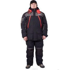Костюм универсальный мужской Canadian Camper Viking: куртка, брюки, цвет: черный, серый. Viking_Black/Grey. Размер 3XL (56/58)