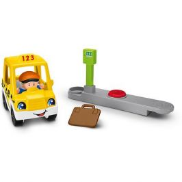 Mattel Транспортное средство Fisher-Price Little People Going Places Taxi