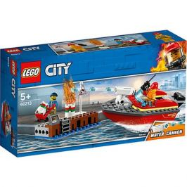 LEGO Конструктор LEGO City Fire 60213: Пожар в порту