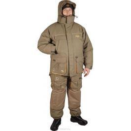 Костюм рыболовный мужской Canadian Camper Snow Lake: куртка, полукомбинезон, цвет: серо-зеленый. Snow Lake_Stone. Размер XL (52/54)
