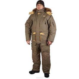 Костюм рыболовный мужской Canadian Camper Siberia: куртка, комбинезон, цвет: серо-зеленый. Siberia_Stone. Размер 3XL (54/56)