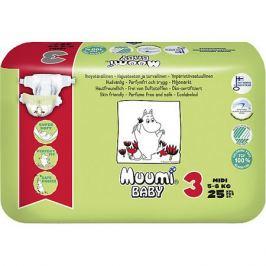 Muumi Подгузники Muumi Midi 5-8 кг, 25 штук