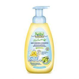 Babyline Средство для купания и шампунь BabyLine Nature с маслом оливы 500 мл.