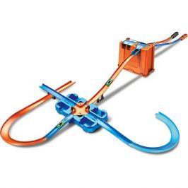 Mattel Автотрек Hot Wheels Track Builder Премиальный трюковой набор