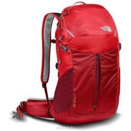 Рюкзак спортивный The North Face Litus 22-RC, цвет: красный. T92ZDY1SW