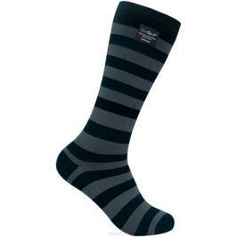 Носки водонепроницаемые Dexshell, цвет: черный, серый. DS633WG. Размер XL (47/49)