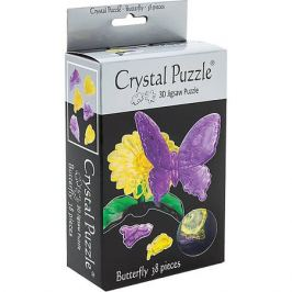 Crystal Puzzle 3D головоломка Crystal Puzzle Бабочка