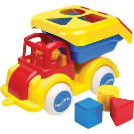 Viking Toys Машинка-сортер Viking toys с кубиками