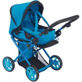 Buggy Boom Коляска-трансформер 2-в-1 для кукол Buggy Boom Infinia, голубая