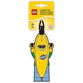 - Бирка для багажа Lego Banana