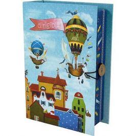 Феникс-Презент Коробка подарочная Феникс-презент Дирижабли в лето, размер S