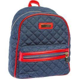 Рюкзак женский Keddo, цвет: синий, красный. 387121/06-02