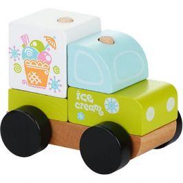 Cubika Машинка-констркутор Cubika Экспресс-мороженное LM-8, 5 деталей