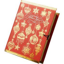 Magic Time Подарочная коробка Золото на красном-M