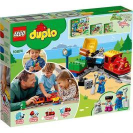LEGO Конструктор LEGO DUPLO Town 10874: Поезд на паровой тяге
