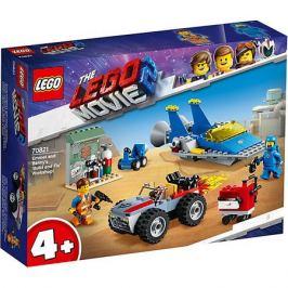 LEGO LEGO Movie Мастерская «Строим и чиним» Эммета и Бенни! 70821