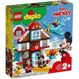 LEGO Конструктор LEGO DUPLO Disney 10889: Летний домик Микки