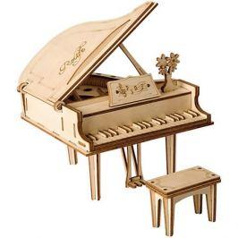 Diy House Деревянный конструктор Wow Idea Пианино