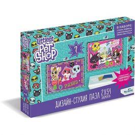 Origami Набор пазлов 2в1 Littlest Pet Shop