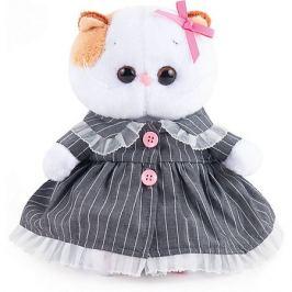 Budi Basa Мягкая игрушка Budi Basa Кошечка Ли-Ли Baby в сером платье, 20 см