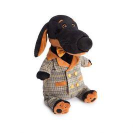 Budi Basa Мягкая игрушка Budi Basa Собака Ваксон в сером костюме в клетку, 29 см