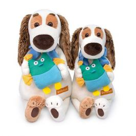 Budi Basa Мягкая игрушка Budi Basa Собака Бартоломей с совой, 27 см