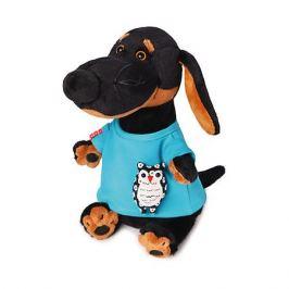 Budi Basa Мягкая игрушка Budi Basa Собака Ваксон в футболке с совой, 29 см