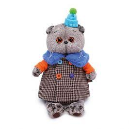 Budi Basa Мягкая игрушка Budi Basa Кот Басик в комбинированном пальто, 19 см