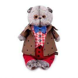 Budi Basa Мягкая игрушка Budi Basa Кот Басик в костюме с бантом, 22 см