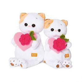 Budi Basa Мягкая игрушка Budi Basa Кошечка Ли-Ли с розовым сердечком, 27 см