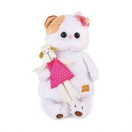 Budi Basa Мягкая игрушка Budi Basa Кошечка Ли Ли с овечкой, 27 см