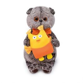 Budi Basa Мягкая игрушка Budi Basa Кот Басик с совой, 30 см