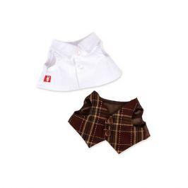 Budi Basa Комплект одежды Budi Basa для Зайки Ми-мальчика, 25 см, белая рубашка и жилет