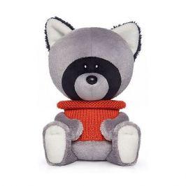 Budi Basa Мягкая игрушка Budi Basa лЕсята Енот Лёка в свитере, 15 см