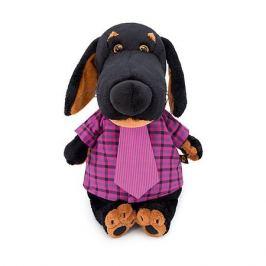 Budi Basa Мягкая игрушка Budi Basa Собака Ваксон в рубашке и галстуке, 25 см
