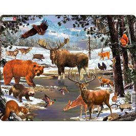 Larsen Пазл Larsen Животные Северной Европы